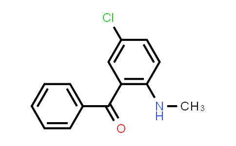 1022-13-5   (5-Chloro-2-(methylamino)phenyl)(phenyl)methanone