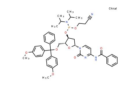 102212-98-6 | (2R,3S,5R)-5-(4-Benzamido-2-oxopyrimidin-1(2H)-yl)-2-((bis(4-methoxyphenyl)(phenyl)methoxy)methyl)tetrahydrofuran-3-yl (2-cyanoethyl) diisopropylphosphoramidite