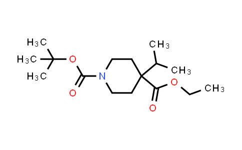 1022128-75-1 | 1-tert-Butyl 4-ethyl 4-isopropylpiperidine-1,4-dicarboxylate