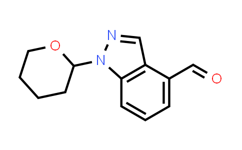1022158-36-6 | 1-(Oxan-2-yl)-1H-indazole-4-carbaldehyde