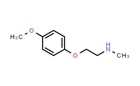 102246-82-2   2-(4-Methoxyphenoxy)-n-methylethanamine