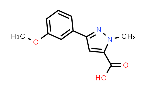 1022575-47-8 | 3-(3-Methoxyphenyl)-1-methyl-1H-pyrazole-5-carboxylic acid