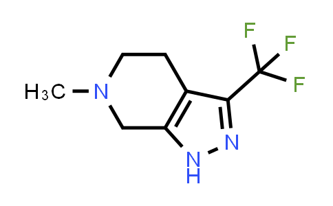1022931-56-1 | 6-Methyl-3-(trifluoromethyl)-4,5,6,7-tetrahydro-1H-pyrazolo[3,4-c]pyridine
