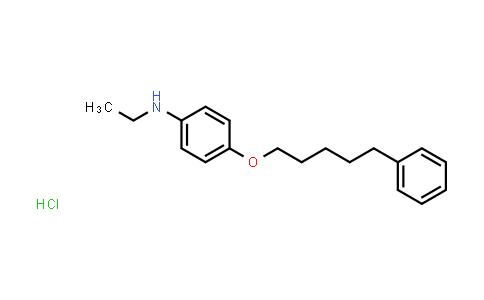 102320-71-8 | N-Ethyl-4-((5-phenylpentyl)oxy)aniline hydrochloride