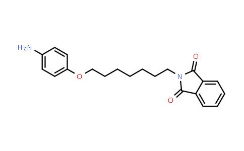 102375-33-7 | 2-(7-(4-Aminophenoxy)heptyl)isoindoline-1,3-dione