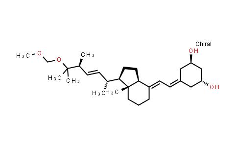 1023889-38-4   (1R,3R)-5-((E)-2-((1R,3aS,7aR)-1-((2R,5S,E)-6-(methoxymethoxy)-5,6-dimethylhept-3-en-2-yl)-7a-methyldihydro-1H-inden-4(2H,5H,6H,7H,7aH)-ylidene)ethylidene)cyclohexane-1,3-diol