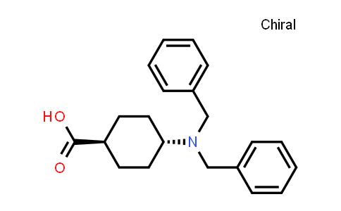 102390-36-3 | trans-4-[Bis(phenylmethyl)amino]cyclohexanecarboxylic acid
