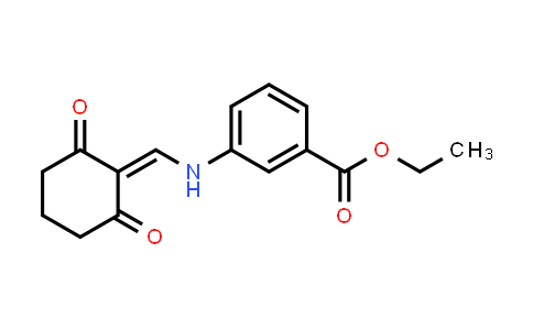 1024114-59-7 | ethyl 3-(((2,6-dioxocyclohexylidene)methyl)amino)benzoate