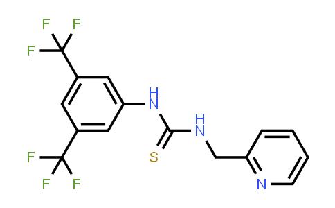 1024572-85-7 | 1-(3,5-bis(trifluoromethyl)phenyl)-3-(2-pyridylmethyl)thiourea