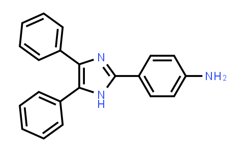102469-74-9 | 4-(4,5-Diphenyl-1H-imidazol-2-yl)aniline