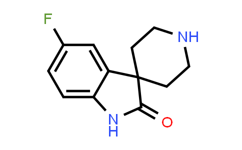 1025662-38-7 | 5-Fluorospiro[indoline-3,4'-piperidin]-2-one