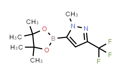 1025719-23-6   1-Methyl-5-(4,4,5,5-tetramethyl-1,3,2-dioxaborolan-2-yl)-3-(trifluoromethyl)-1H-pyrazole