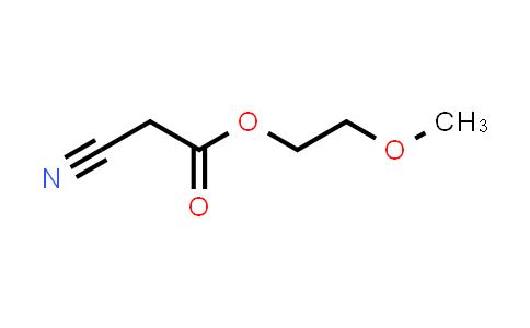 10258-54-5   2-Methoxyethyl 2-cyanoacetate