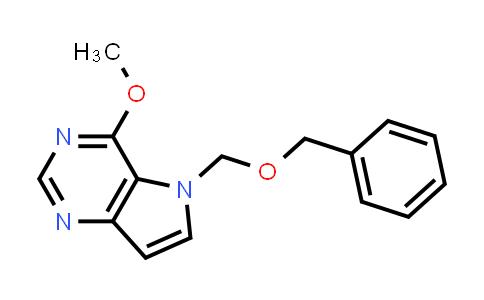 1026012-16-7 | 5H-Pyrrolo[3,2-d]pyrimidine, 4-methoxy-5-[(phenylmethoxy)methyl]-