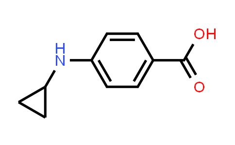 1026042-46-5 | Benzoic acid, 4-(cyclopropylamino)-