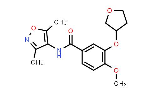 1026184-47-3 | Benzamide, N-(3,5-dimethyl-4-isoxazolyl)-4-methoxy-3-[(tetrahydro-3-furanyl)oxy]-