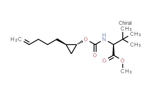 1026200-25-8 | L-Valine,3-methyl-N-[[[(1R,2R)-2-(4-penten-1-yl)cyclopropyl]oxy]carbonyl]-,methyl ester