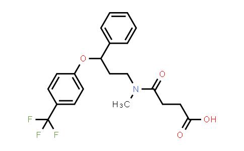 1026723-45-4   4-(Methyl(3-phenyl-3-(4-(trifluoromethyl)phenoxy)propyl)amino)-4-oxobutanoic acid
