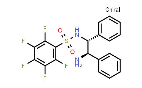 1026785-12-5 | Benzenesulfonamide, N-[(1R,2R)-2-amino-1,2-diphenylethyl]-2,3,4,5,6-pentafluoro-