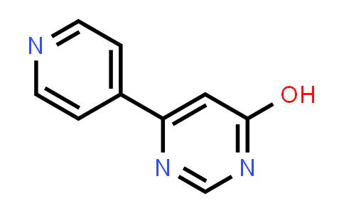 1026857-25-9 | 6-Pyridin-4-ylpyrimidin-4-ol