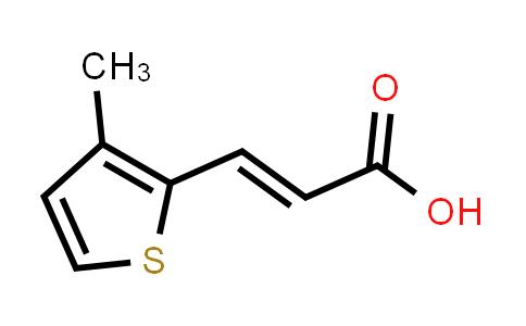 102696-70-8 | (E)-3-(3-Methylthiophen-2-yl)acrylic acid