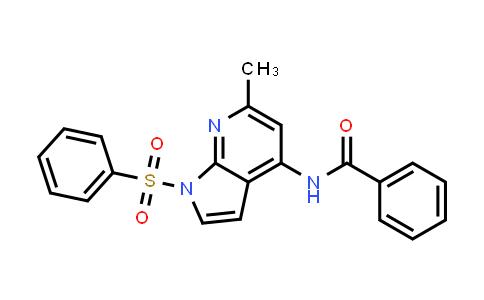 1027065-24-2 | Benzamide, N-[6-methyl-1-(phenylsulfonyl)-1H-pyrrolo[2,3-b]pyridin-4-yl]-