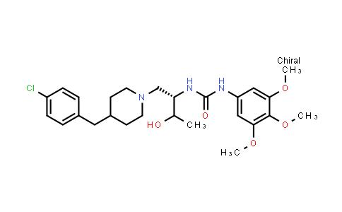 1027161-31-4 | 1-((2S)-1-(4-(4-Chlorobenzyl)piperidin-1-yl)-3-hydroxybutan-2-yl)-3-(3,4,5-trimethoxyphenyl)urea