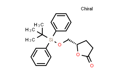 102717-29-3 | (5S)-5-[[[(1,1-Dimethylethyl)diphenylsilyl]oxy]methyl]dihydro-2(3H)-furanone