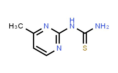 102739-58-2   N-(4-Methylpyrimidin-2-yl)thiourea