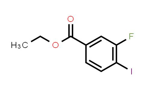 1027513-43-4 | Ethyl 3-fluoro-4-iodobenzoate