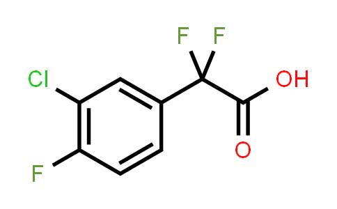 1027514-19-7 | 2-(3-Chloro-4-fluorophenyl)-2,2-difluoroacetic acid