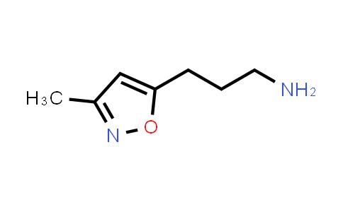 1027518-85-9 | 3-(3-Methyl-5-isoxazolyl)-1-propanamine
