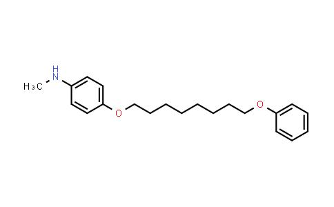 102759-19-3   N-Methyl-4-((8-phenoxyoctyl)oxy)aniline