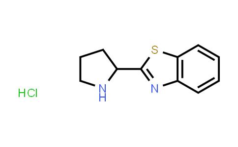 1027643-30-6 | 2-Pyrrolidin-2-yl-1,3-benzothiazole hydrochloride