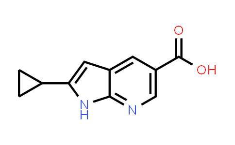 1027785-15-4   1H-Pyrrolo[2,3-b]pyridine-5-carboxylic acid, 2-cyclopropyl-
