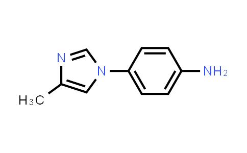 102791-87-7 | 4-(4-Methyl-1H-imidazol-1-yl)benzenamine