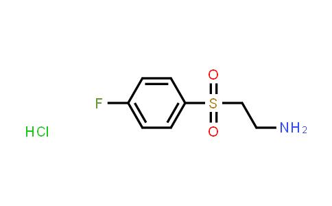 1028126-98-8 | 2-((4-Fluorophenyl)sulfonyl)ethan-1-amine hydrochloride