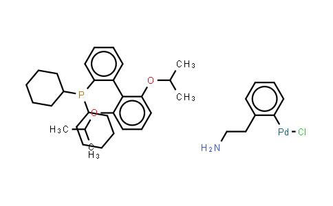 1028206-60-1 | Chloro(2-dicyclohexylphosphino-2',6'-di-i-propoxy-1,1'-biphenyl)[2-(2-aminoethylphenyl)]palladium(II), methyl-t-butylether adduct