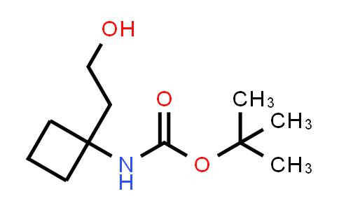 1028266-97-8 | tert-Butyl N-[1-(2-hydroxyethyl)cyclobutyl]carbamate