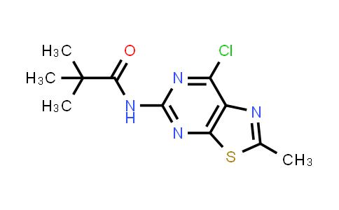 1028332-12-8 | N-(7-Chloro-2-methylthiazolo[5,4-d]pyrimidin-5-yl)pivalamide