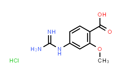 1028486-08-9   4-Guanidino-2-methoxybenzoic Acid Hydrochloride