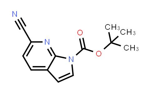 1028752-24-0   1H-Pyrrolo[2,3-b]pyridine-1-carboxylic acid, 6-cyano-, 1,1-dimethylethyl ester