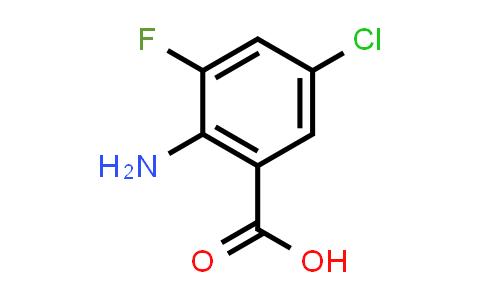 1028757-83-6 | 2-Amino-5-chloro-3-fluorobenzoic acid