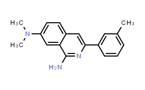 1029008-73-8   N7,N7-Dimethyl-3-(3-methylphenyl)-1,7-isoquinolinediamine