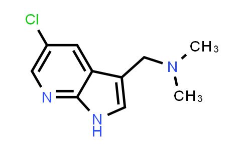 1029052-34-3 | 1H-Pyrrolo[2,3-b]pyridine-3-methanamine, 5-chloro-N,N-dimethyl-
