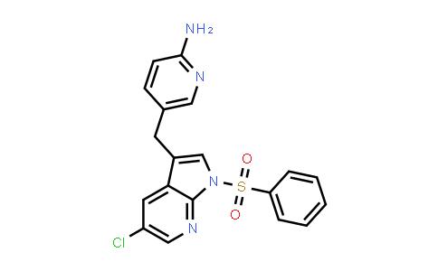 1029052-74-1 | 2-Pyridinamine, 5-[[5-chloro-1-(phenylsulfonyl)-1H-pyrrolo[2,3-b]pyridin-3-yl]methyl]-