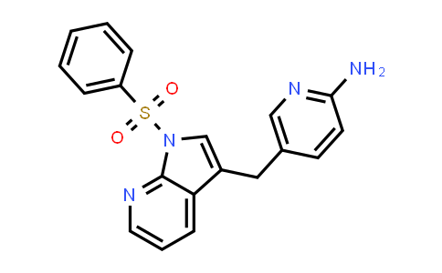 1029052-75-2 | 2-Pyridinamine, 5-[[1-(phenylsulfonyl)-1H-pyrrolo[2,3-b]pyridin-3-yl]methyl]-