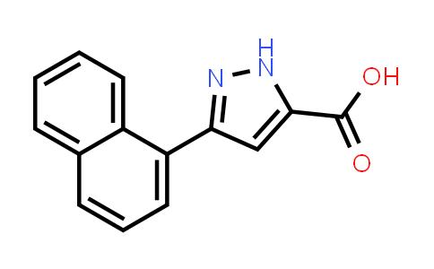 1029104-45-7   3-(Naphthalen-1-yl)-1H-pyrazole-5-carboxylic acid