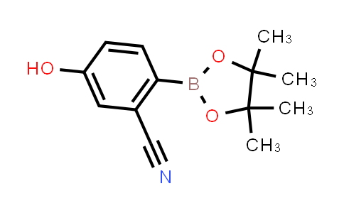 1029439-74-4   5-Hydroxy-2-(4,4,5,5-tetramethyl-1,3,2-dioxaborolan-2-yl)benzonitrile
