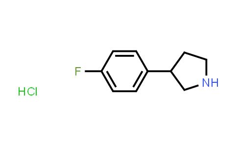1029636-03-0 | 3-(4-Fluorophenyl)pyrrolidine hydrochloride